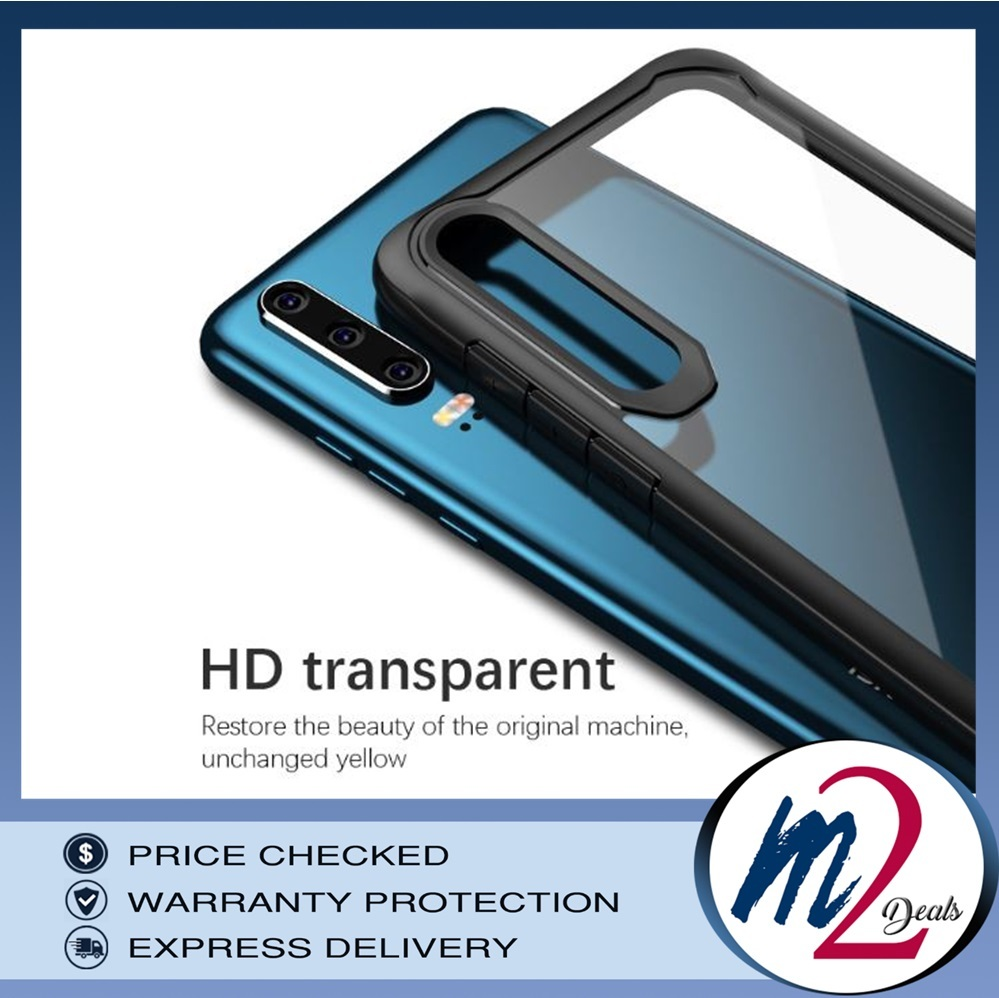m2deals.my_VISEON CLEAR ACRYLIC PROTECTIVE BACK COVER CASE_HUAWEI_P30_BK_1.jpg