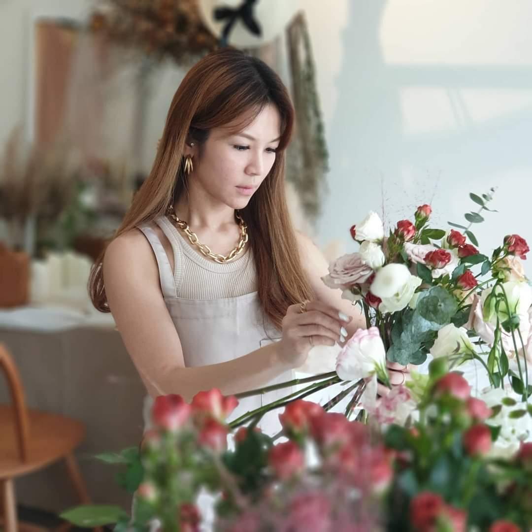 韩式花束兴趣班
