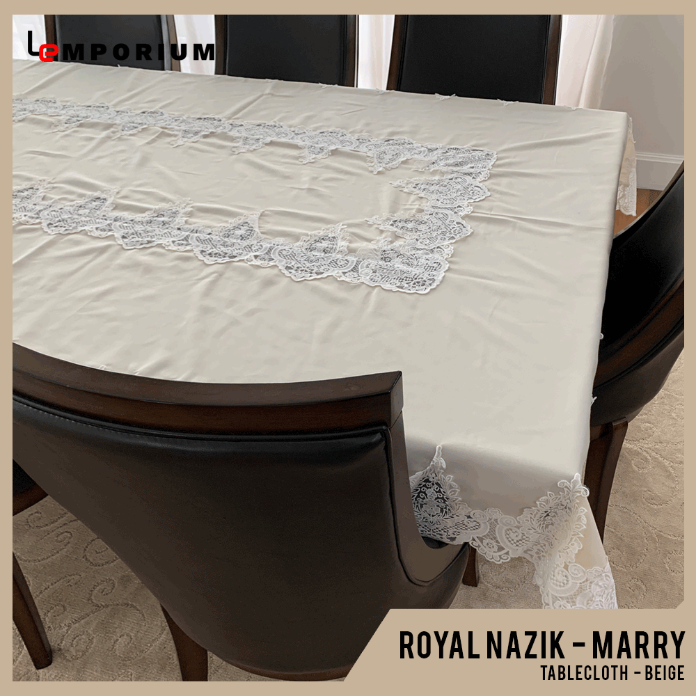 ROYAL NAZIK - MARRY TABLE CLOTH - BEIGE.png
