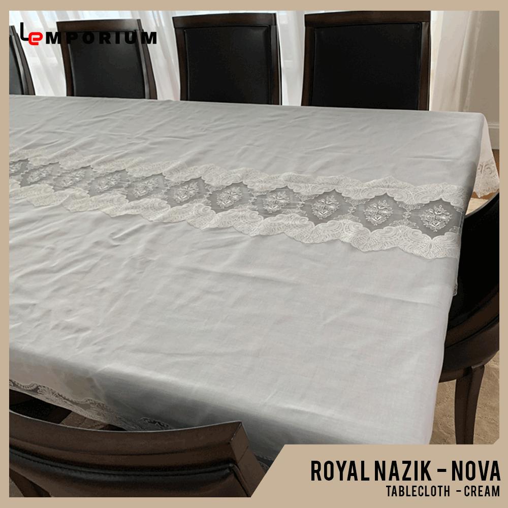 ROYAL NAZIK - NOVA TABLE CLOTH- CREAM.png