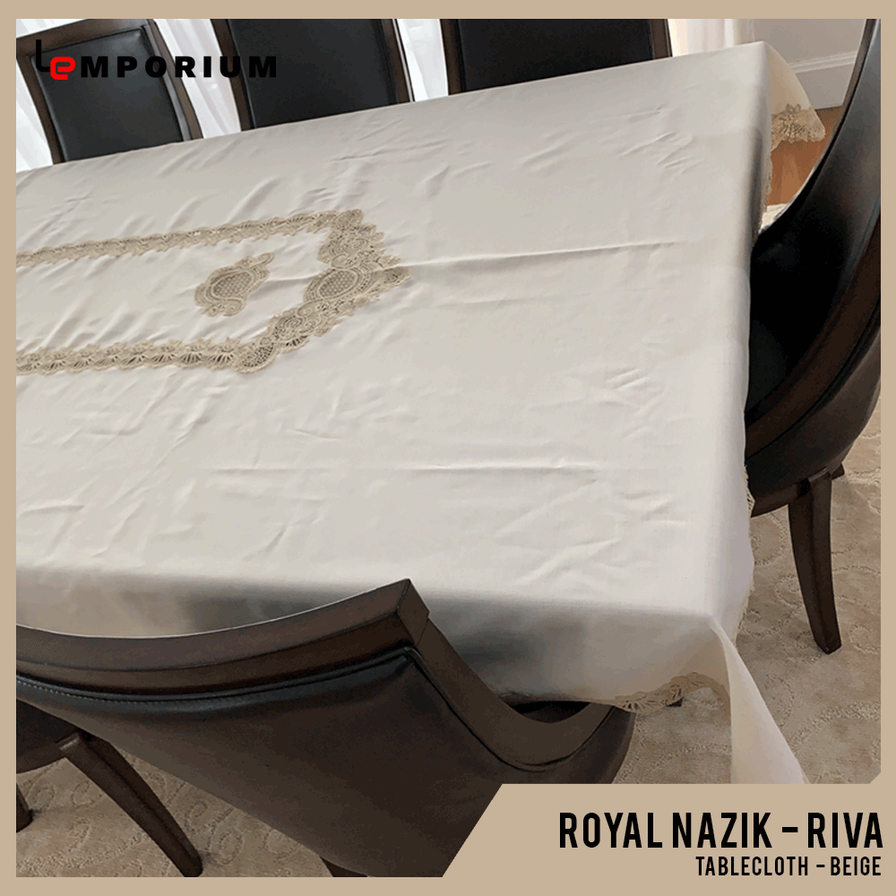 ROYAL NAZIK - RIVA TABLE CLOTH - BEIGE.png