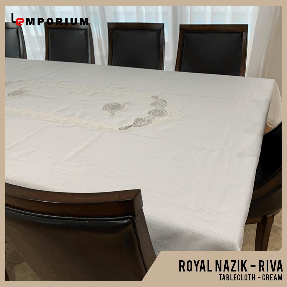 ROYAL NAZIK - RIVA TABLE CLOTH - CREAM.png