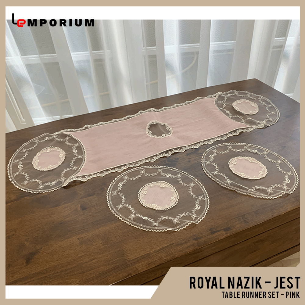 - ROYAL NAZIK - JEST TABLE RUNNER - PINK.png
