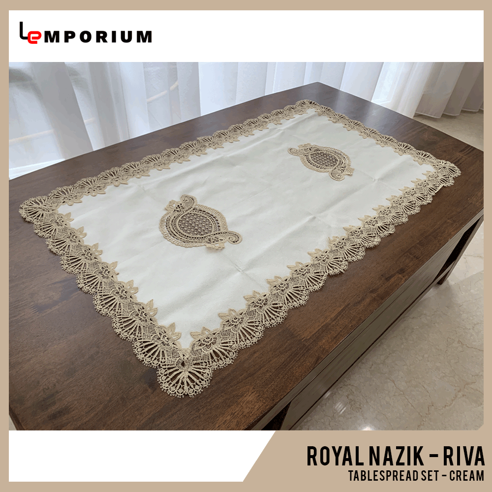 ROYAL NAZIK - RIVA TABLESPREAD - CREAM.png