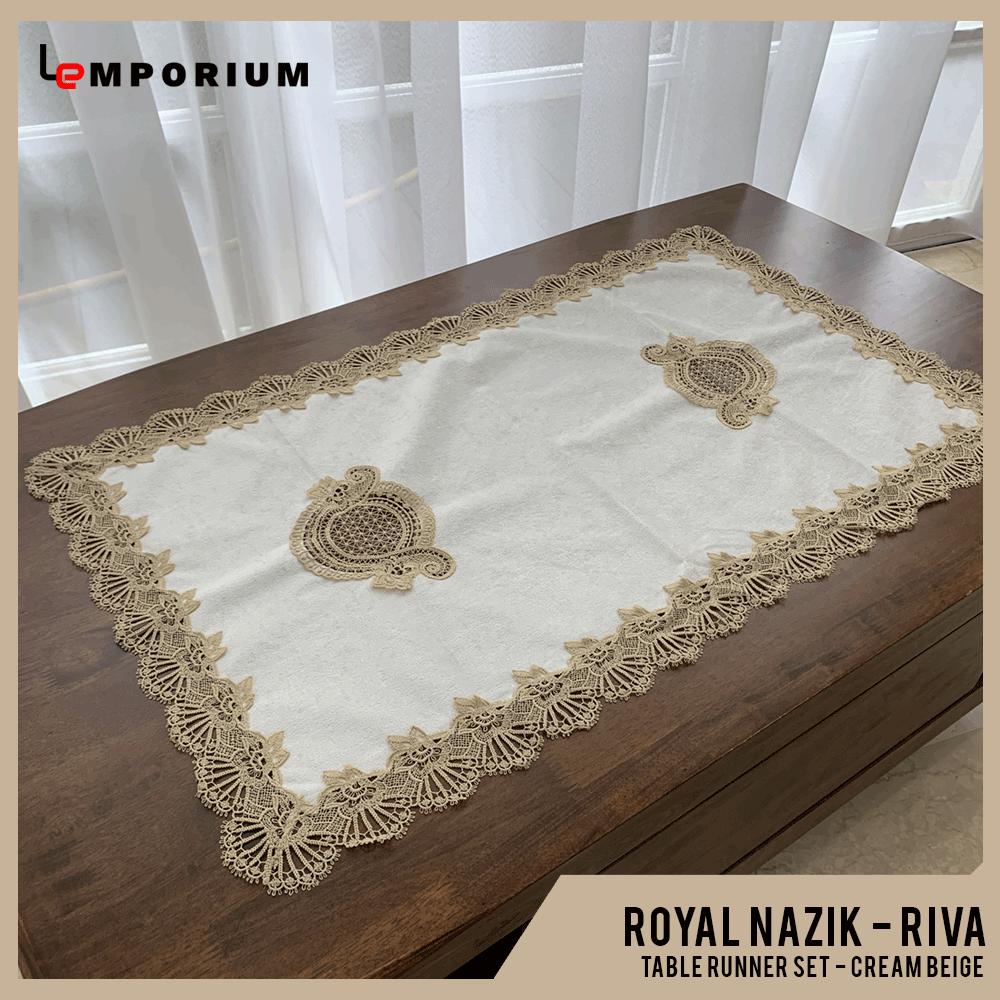 ROYAL NAZIK - RIVA TABLE RUNNER - CREAM BEIGE.png