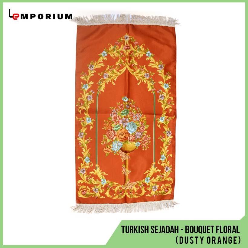 _0027_48 - Turkish Sejadah - Bouquet Floral Motif (Dusty Orange).jpg