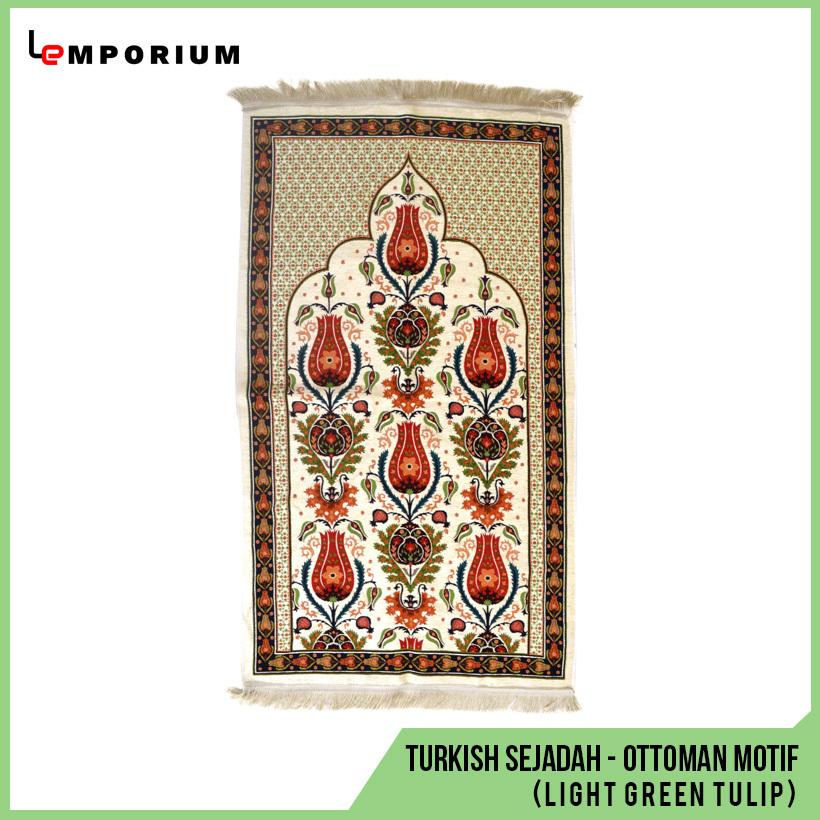 #10---Turkish-Sejadah---Ottoman-Motif-(Tulip)---Light-Green.jpg