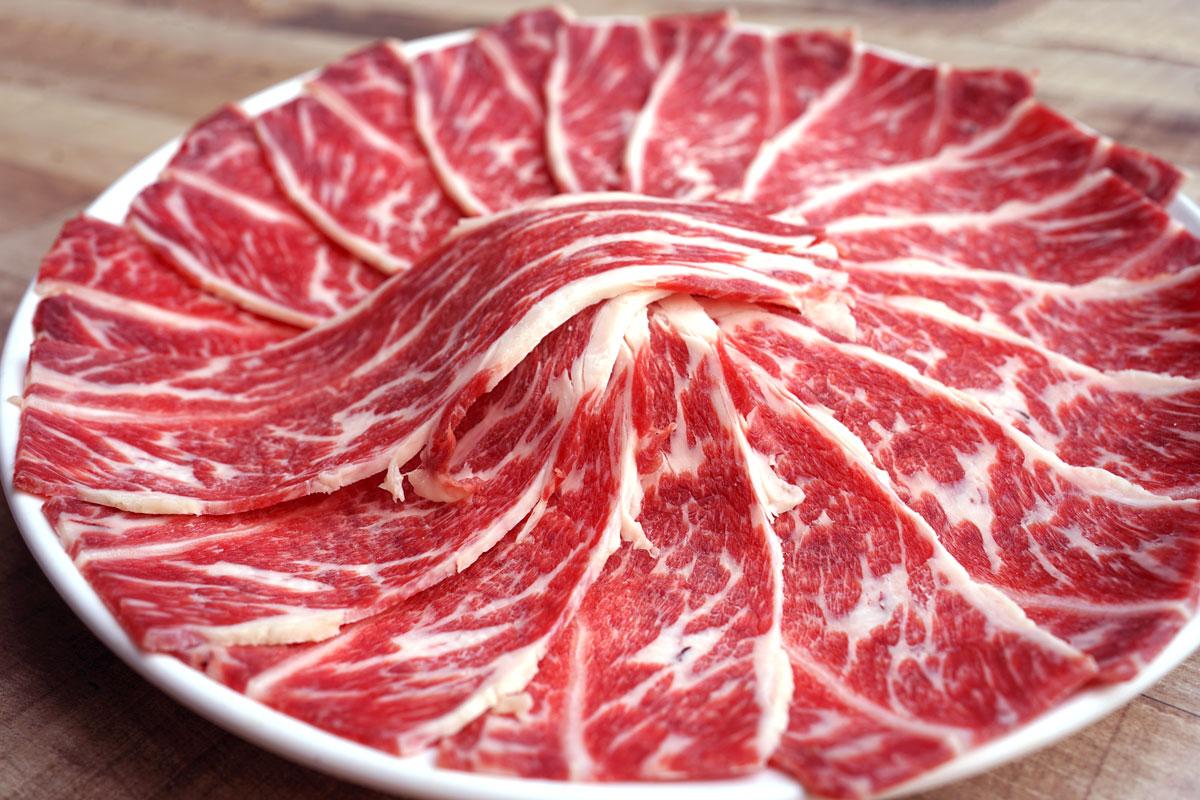 Hong Kong Hotpot   Menu - 特級新鮮肉 / Fresh Premium Meat