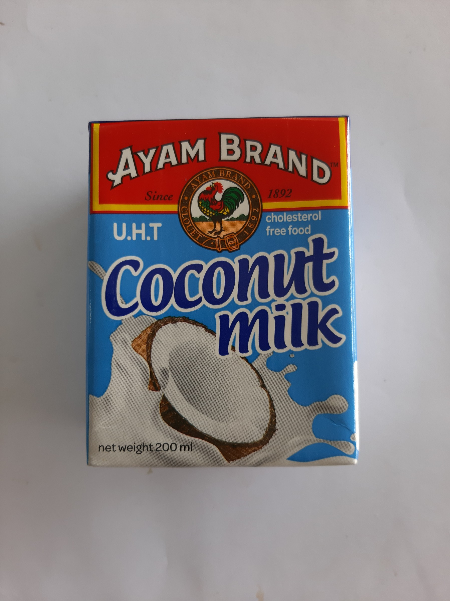 Coconut Milk Ayam Brand 200ml- 2 Pkts