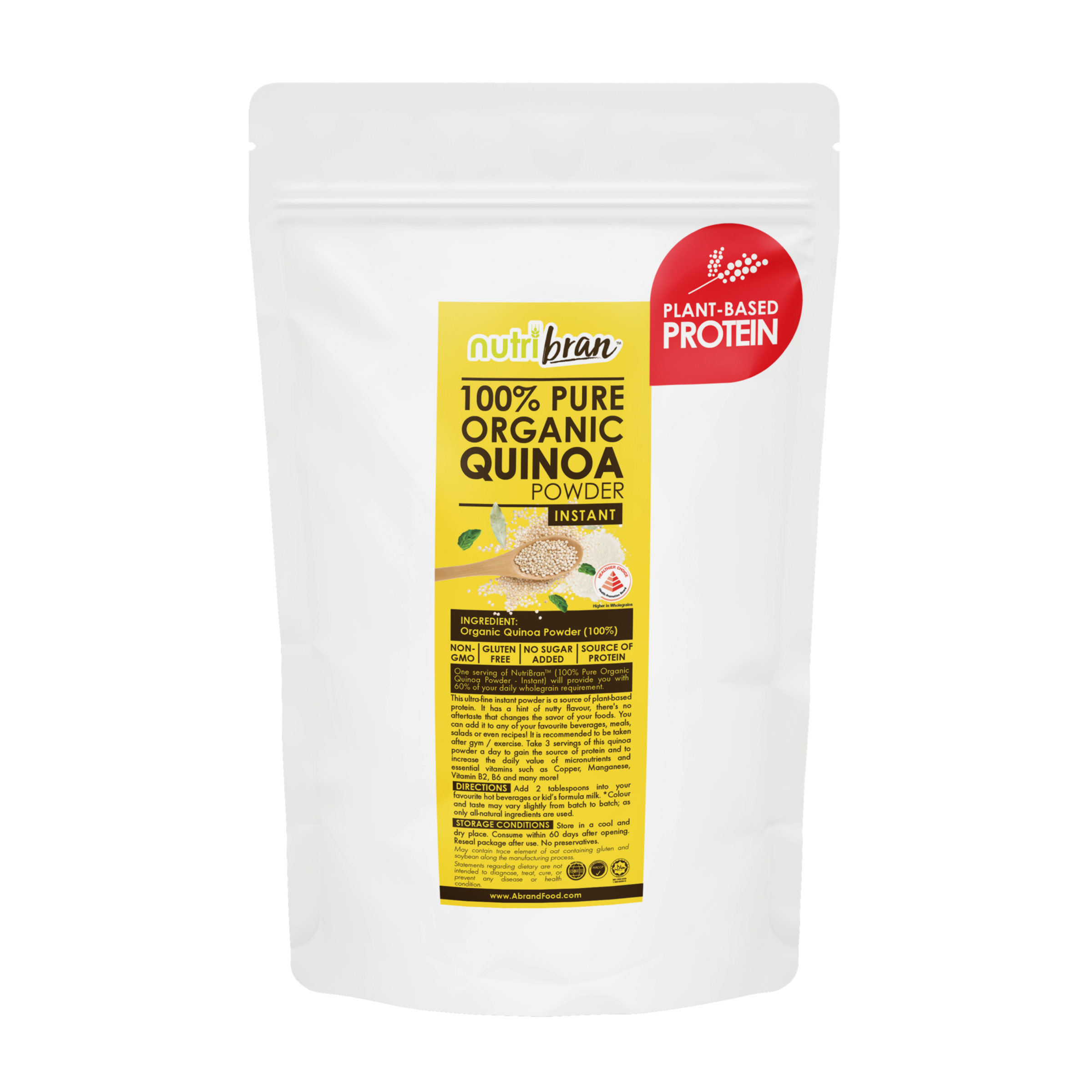 NutriBran (100% Pure Organic Quinoa Powder) - cancer fighting nutrients.png