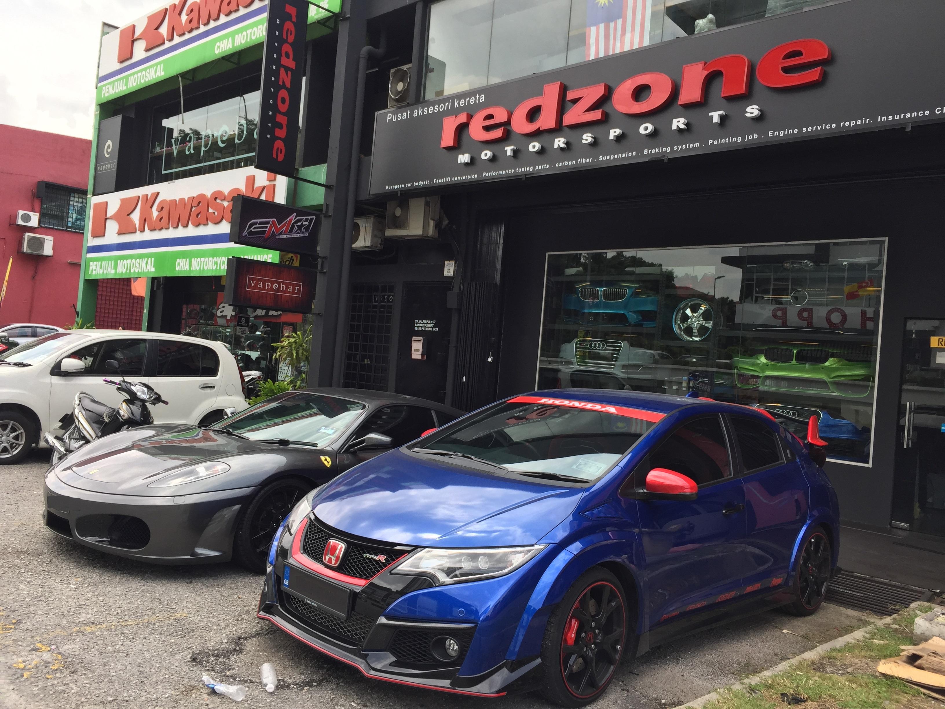 Redzone motorsports | Redzone Motorsports Bandar Sunway