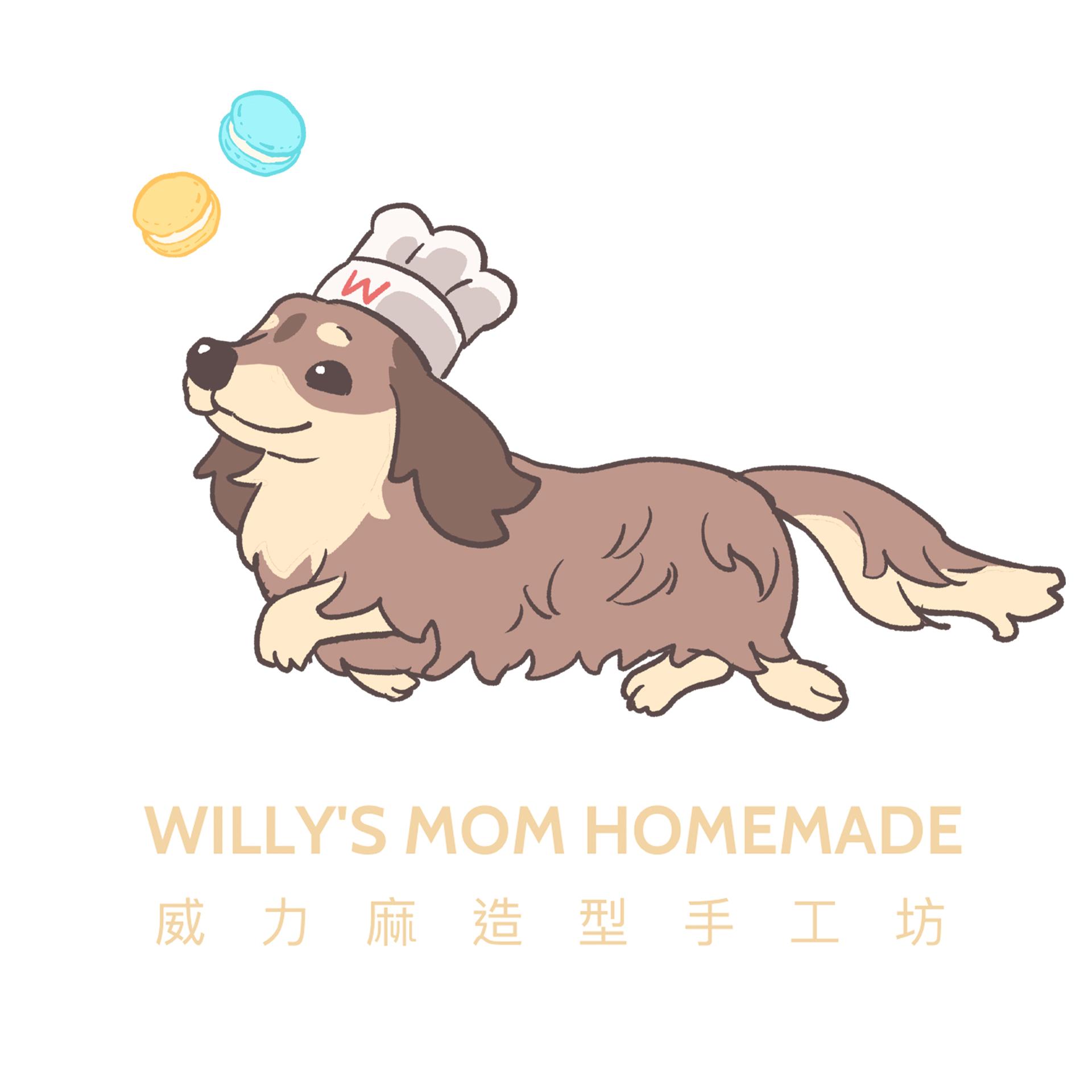 Willy's mom handmade 威力麻造型手作坊