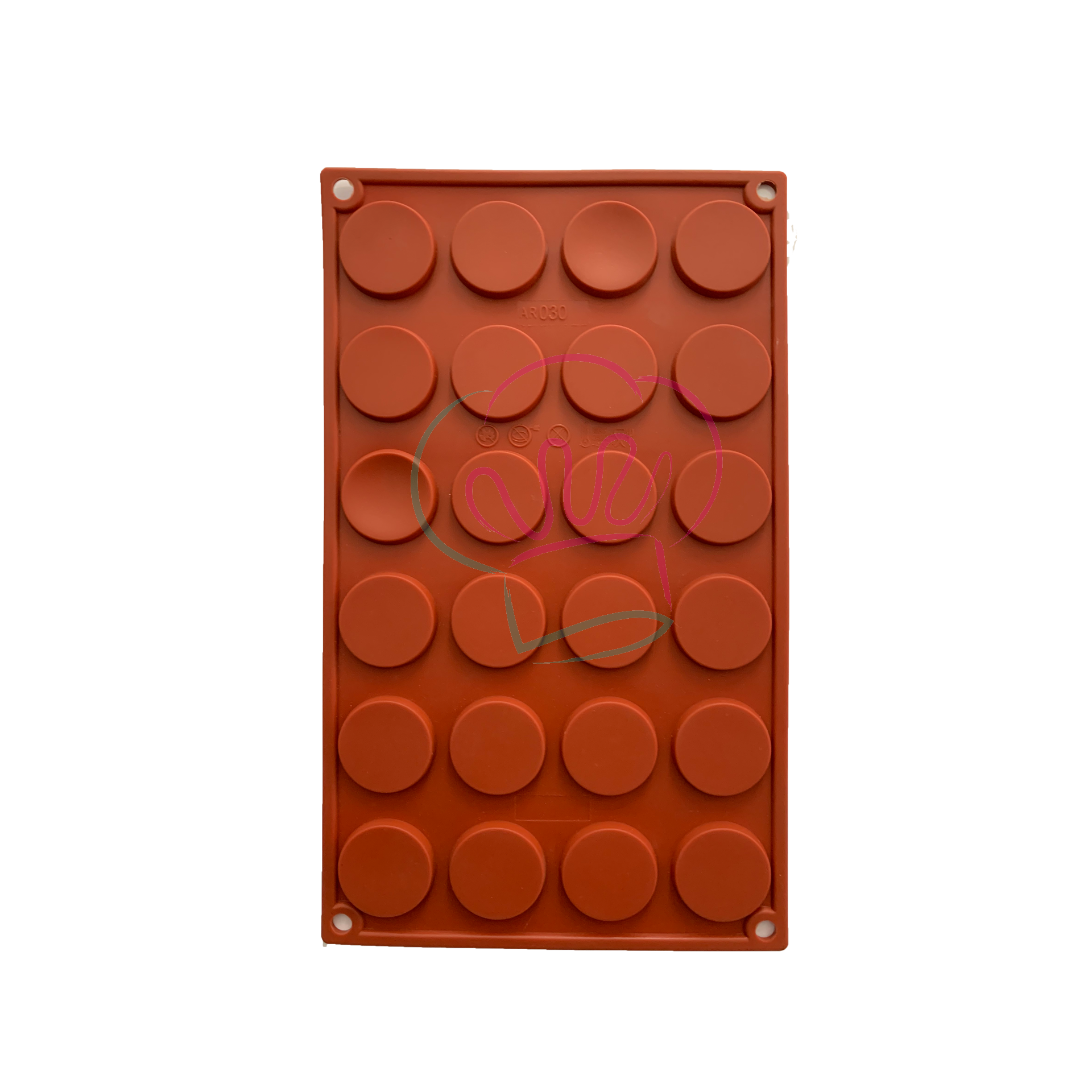 Round Mould for Chocolate 24 Cavities.png