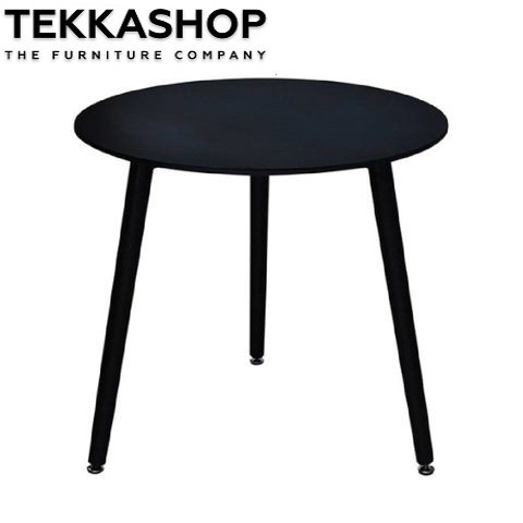 SFDT0303-BL Concise Style 3 Legs Round Shape Dining Table - Black.jpeg