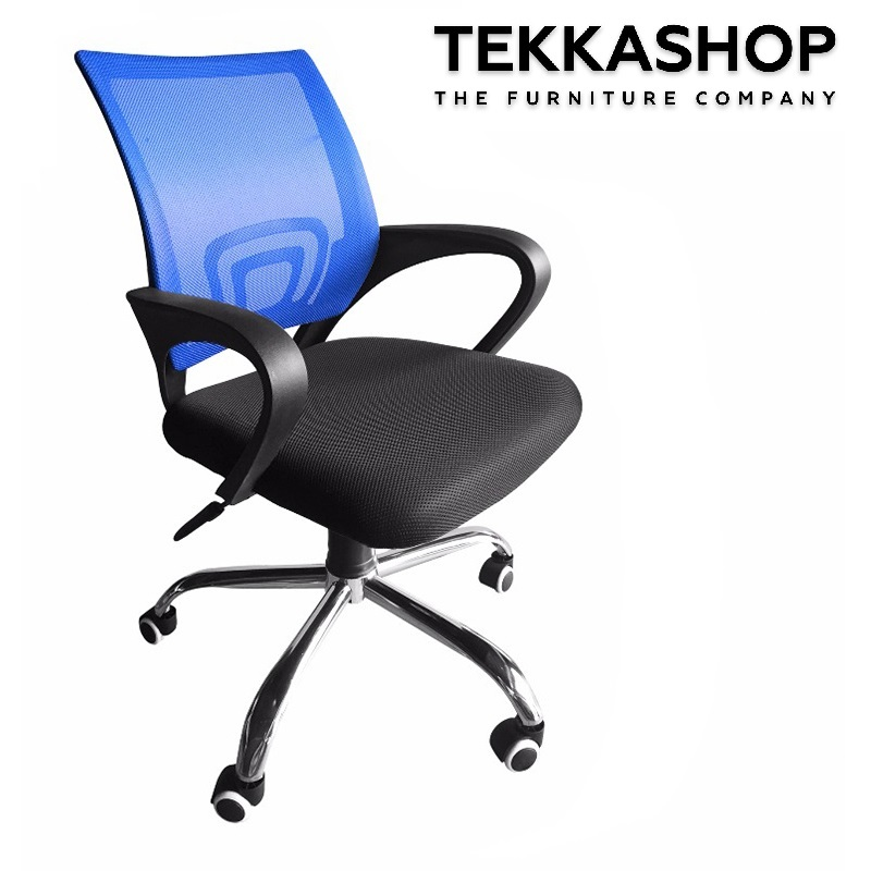 Mesh Office Armchair - Blue.jpg