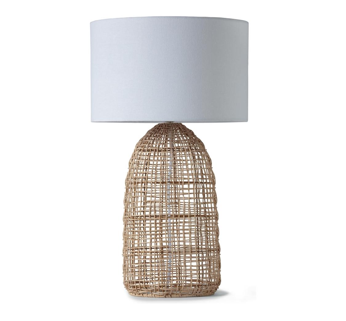 Rattan Table Lamp Sarang Design Studio