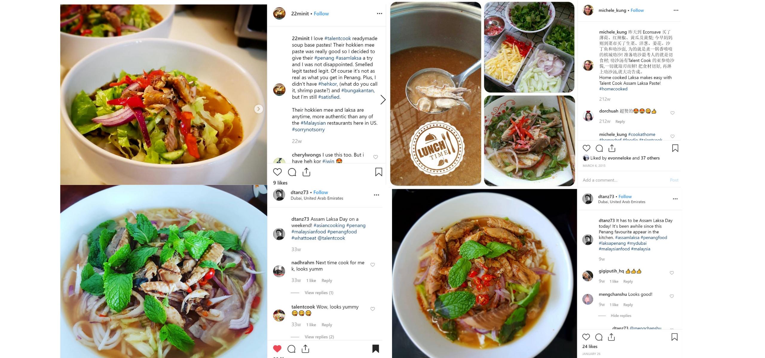 TALENTCOOK Penang Local Delicacies D.I.Y Sauce - Thank You!