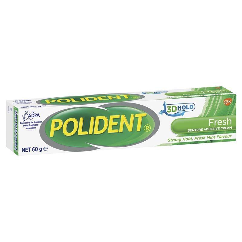 Polident Adhesive Cream Tube x60g(Fresh).jpg