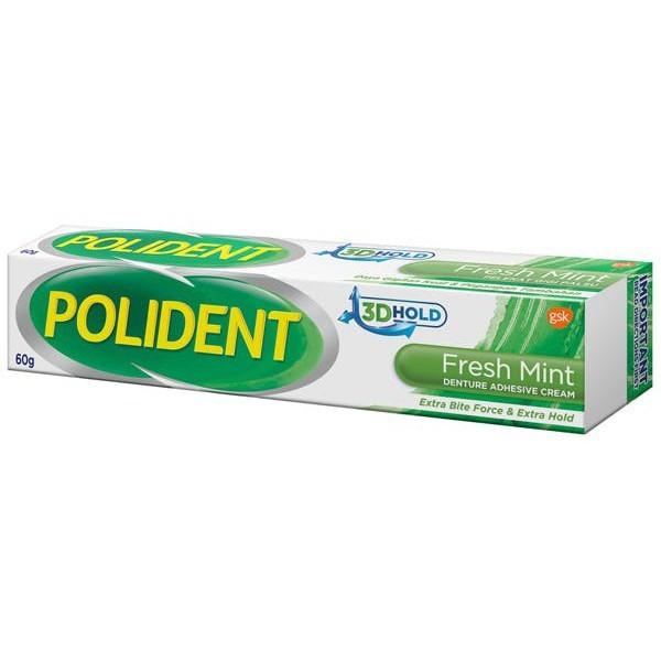 Polident Adhesive Cream Tube x 60g(Fresh Mint) RM20.30.jpg