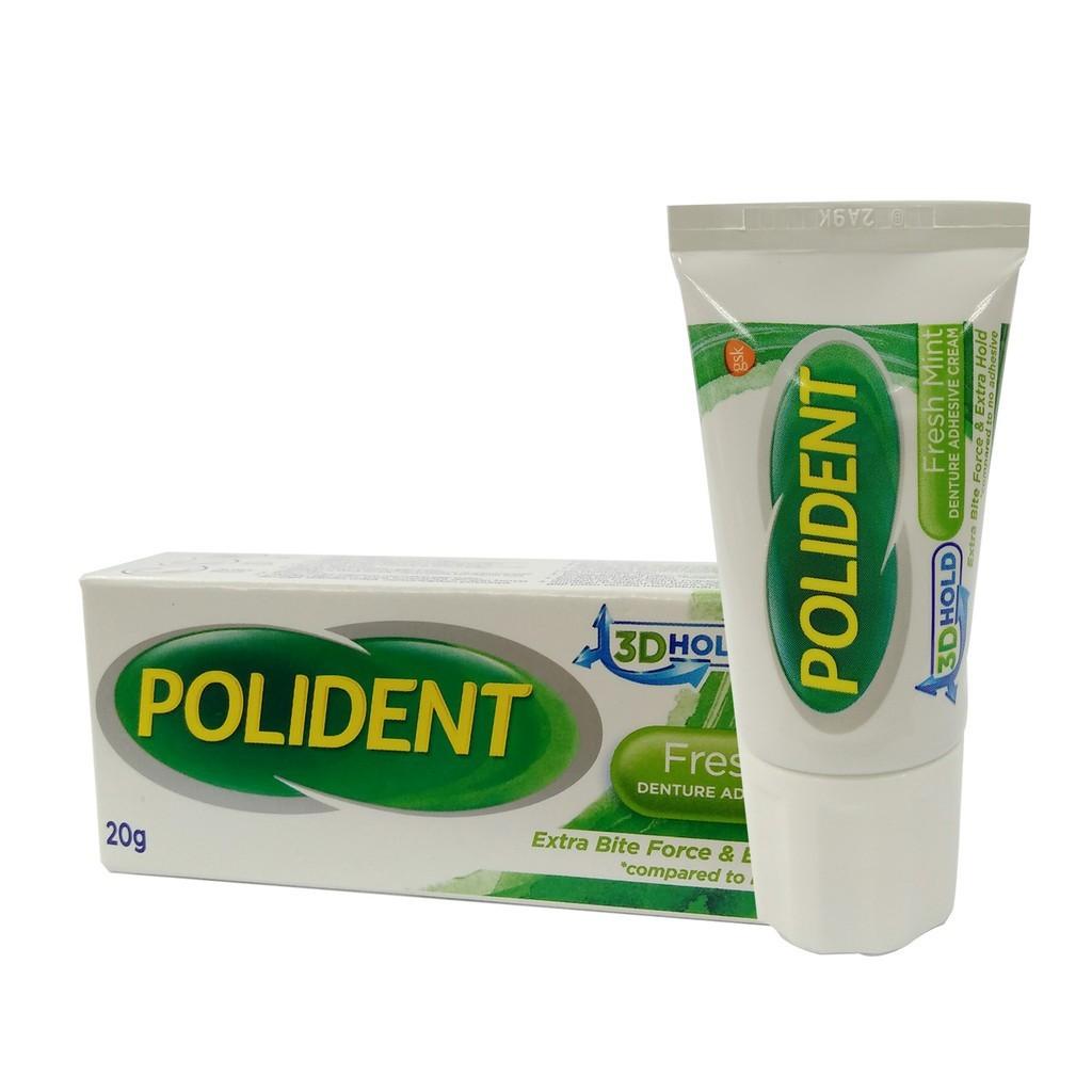 Polident Adhesive Cream Tube x 20g (Fresh).jpg