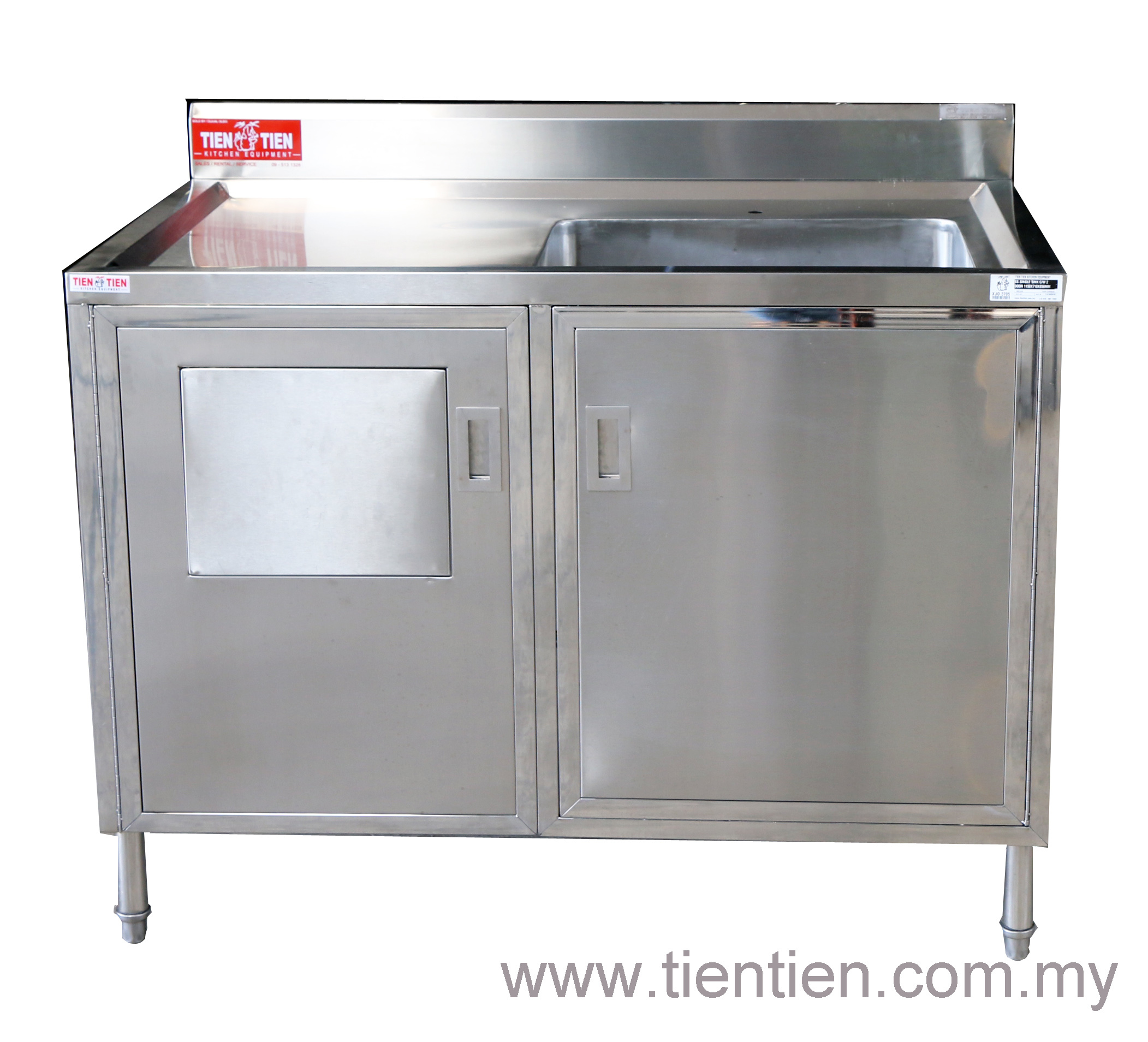 TIEN TIEN customized round sink bowl with cabinet and dump bin.jpg