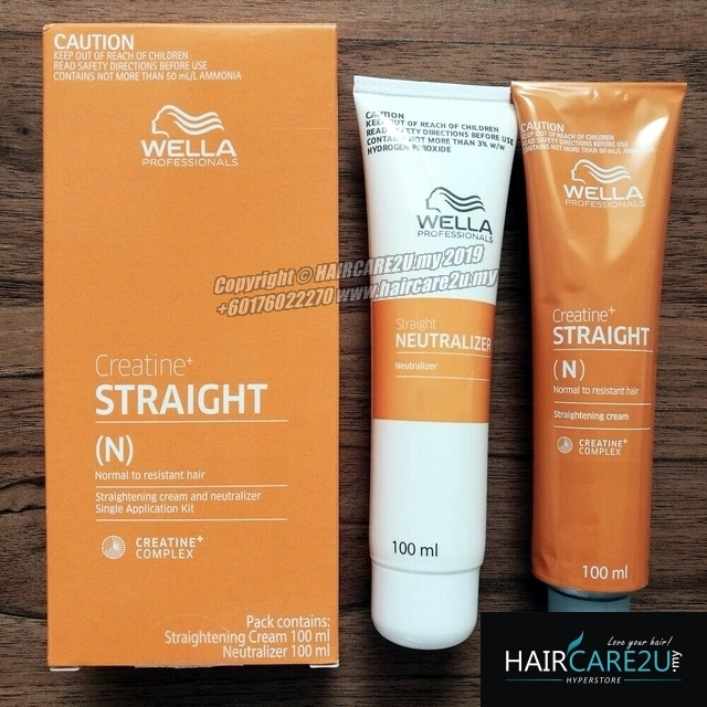100ml Wella Creatine Straight IT Hair Cream Ubat Lurus Rambut Wellastrate.jpg