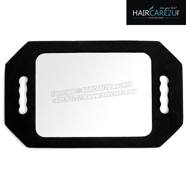Barber Salon Shockproof Rectangle Makeup Hand Mirror.jpg