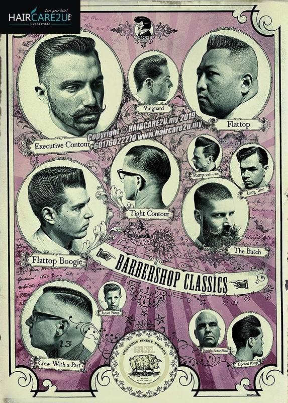 REUZEL Pomade Barbershop Classics Barber Poster.jpg