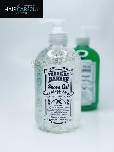 500ml The Silka Barber Shaving Gel for Men.jpg