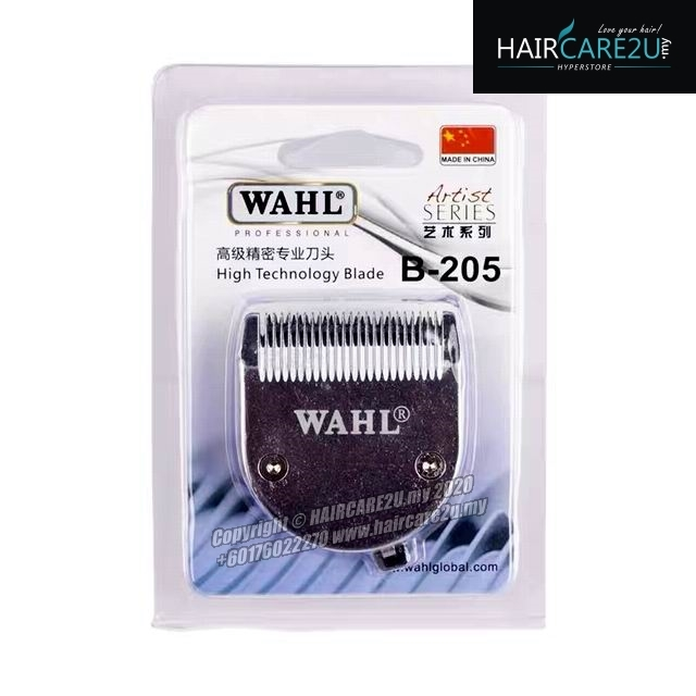 Wahl B-205 High Technology 2 Hole Stainless Steel Chrome Blade.JPG