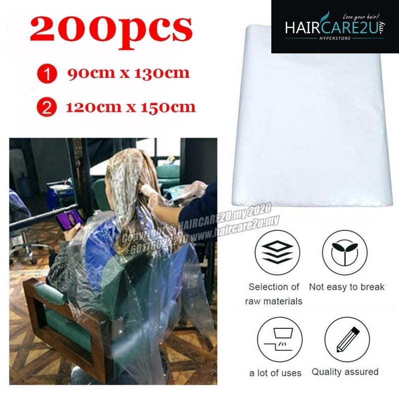200pcs Barber Salon Disposable Hairdressing Apron Cutting Cape.jpg