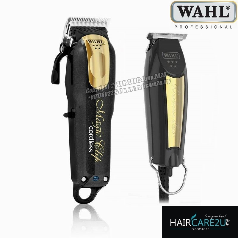 Wahl 5 Star Black & Gold Magic Clip Cordless Clipper and Detailer Barber Combo.jpg