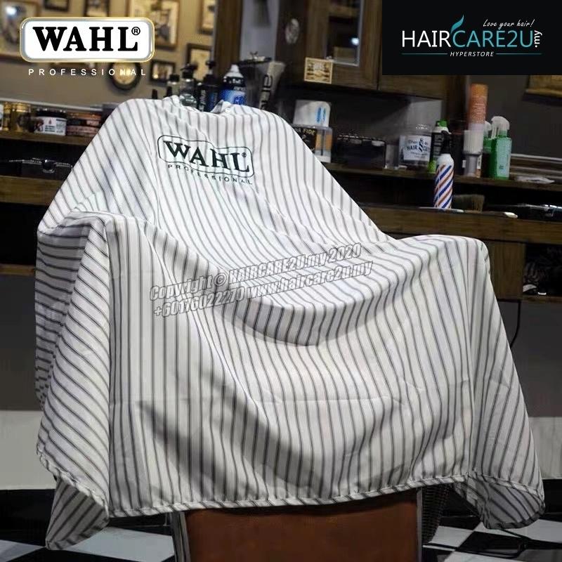 Wahl Black Stripes Embroidery Barber Salon Cutting Cape.jpg