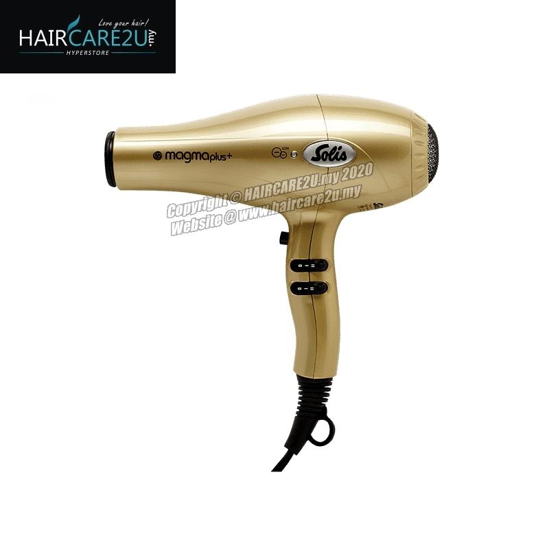 Solis Magma Plus Ion 2200 Watt Professional Hair Dryer (Gold).jpg