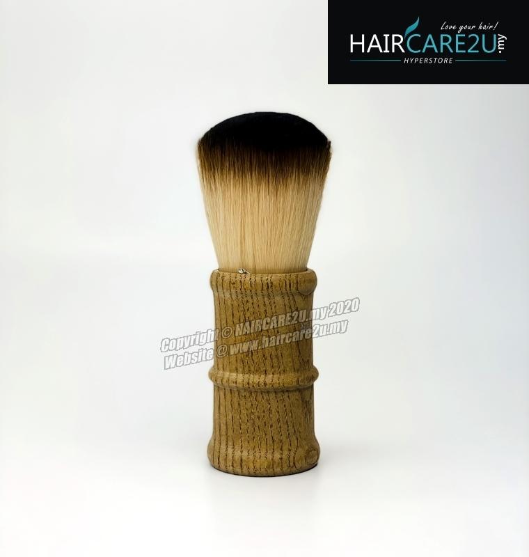 E13 Megaga Barber & Salon Soft Neck Face Duster Wooden Hair Brush.jpg