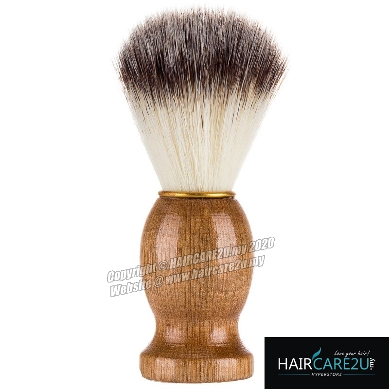 HAIRCARE2U 17-6A Barbershop Wooden Mustache Soft Neck Face Duster Brush.jpg