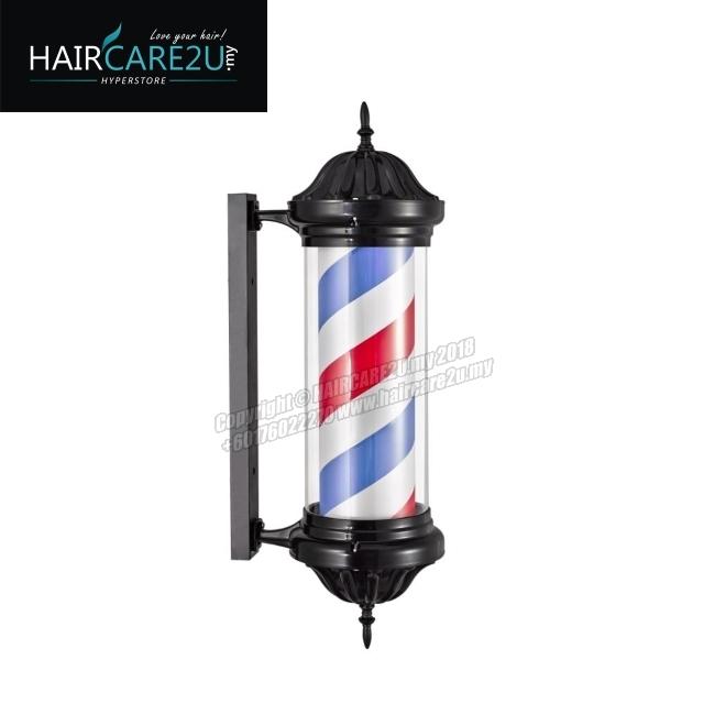 M345 Black Rotating Classical Barber Pole Lamp.jpg