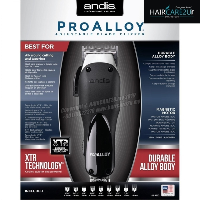 Andis Pro Alloy Adjustable Blade Hair Clipper #69110.jpg