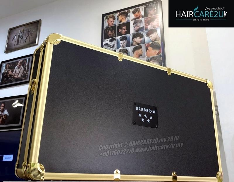Barber & Co. Gold Metal 5 Star Barber Tools Case Bag.jpg