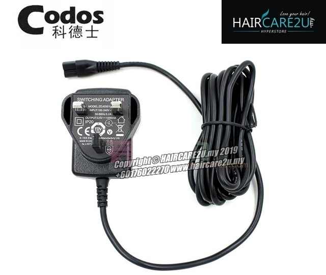 UK 3pins Adapter Charger For All Codos Hair Pet Clipper.jpg
