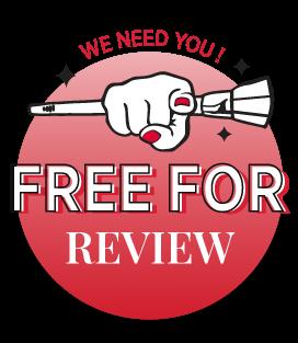รีวิวสินค้ารับฟรี! Free For Review