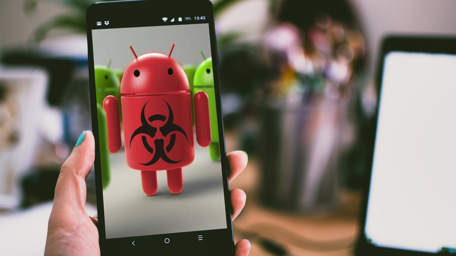 Android backdoor malware used for espionage against the Kurdish ethnic group