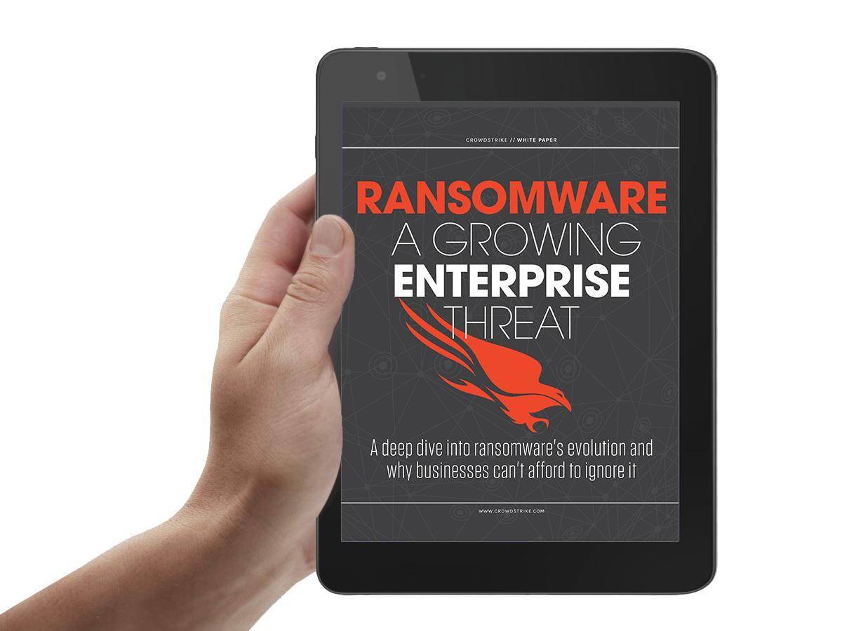 Ransomware – a growing enterprise threat