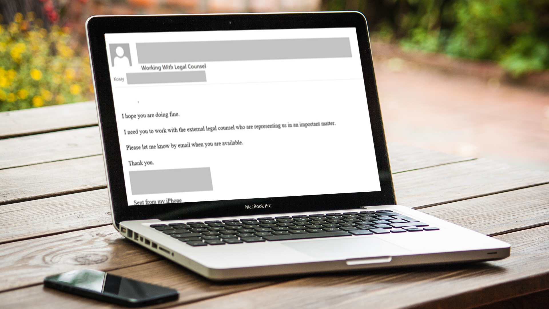 Treat every email from your CEO as a potential BEC!