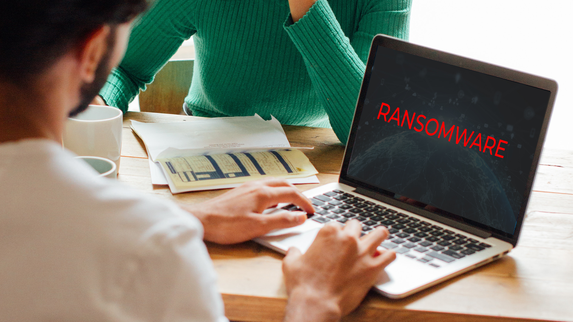 More businesses targeted by ransomware in the past year: study