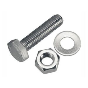 Bolt and Nut with Washer 3/4 x 3/4 for sale here at topmost construction supplies