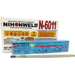 Nihonweld Welding Rod N6011 1/8 3.2mm for sale online