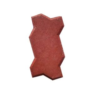 Wavy Red Pavers