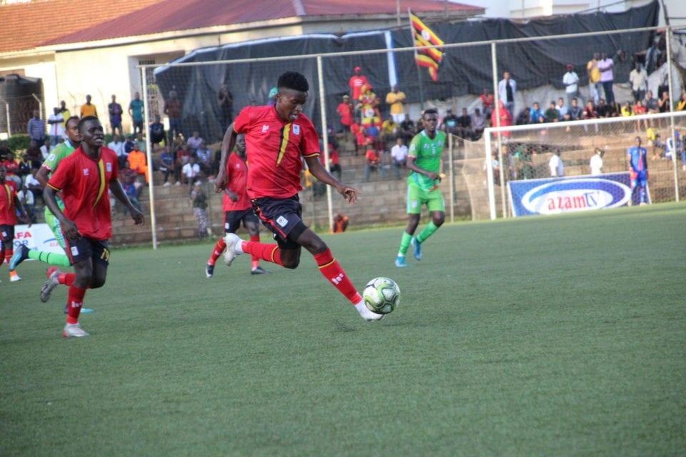 Allan Okello takes on the opposition
