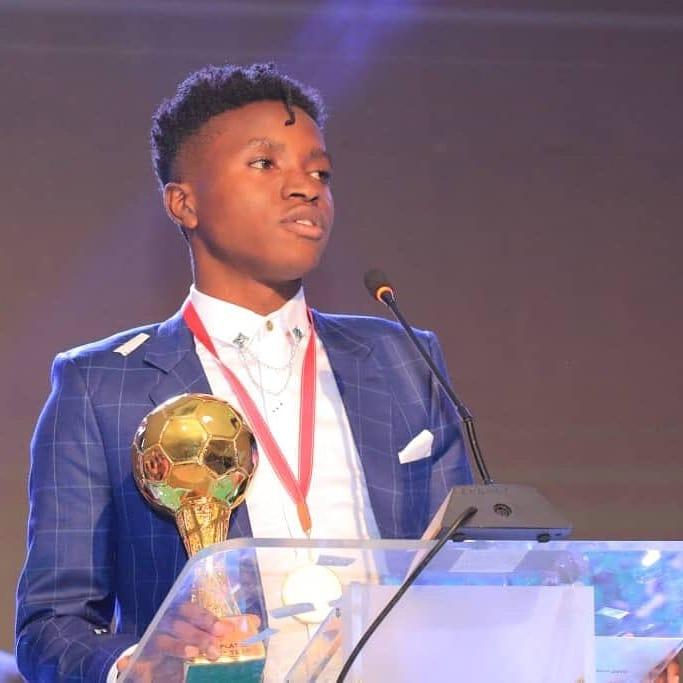 Allan Okello on the awards dinner